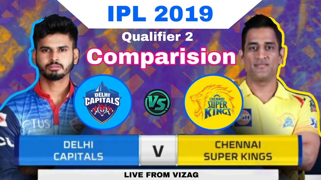 Photo of IPL 2019 – Qualifier 2 : CSK vs DC Playing 11 & Comparision ,Prediction | MY Cricket Production