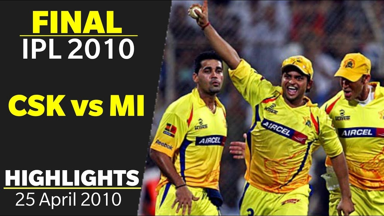 Photo of IPL 2010 Final Highlights | CSK vs MI Full Match Highlights | IPL 3 Final Highlights
