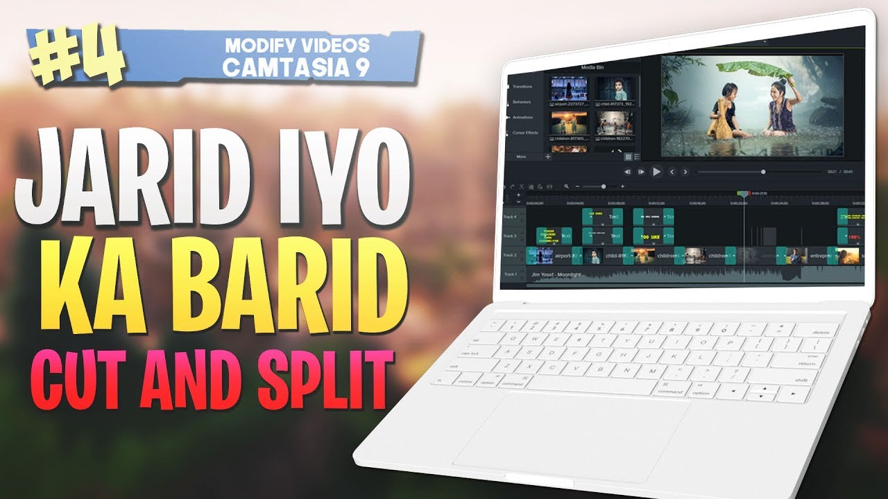 Photo of #4 Jarid iyo kala barid |Cut and split| Camtasia Studio 9 Video Editing 2019