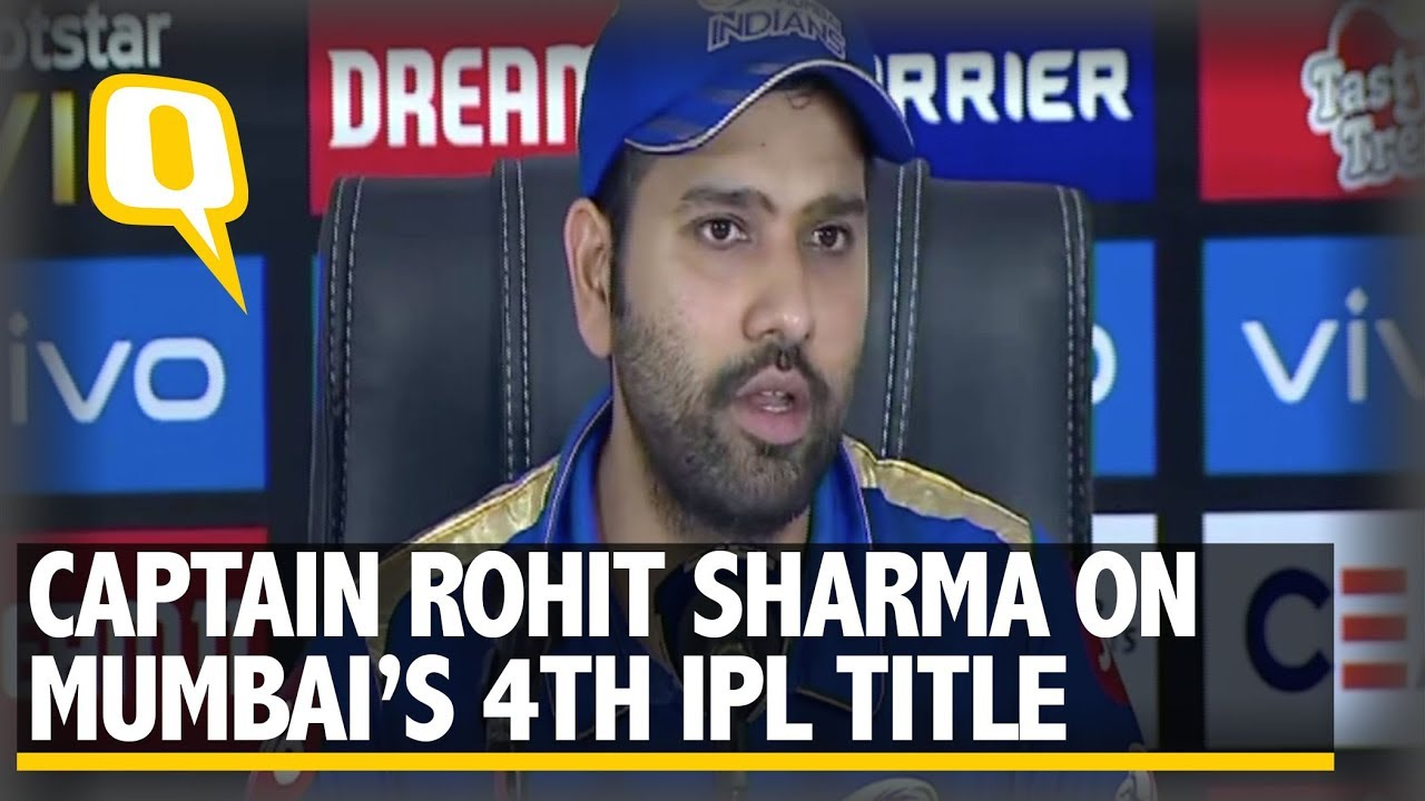 Photo of Rohit Sharma Speaks After Mumbai Indians Win IPL 2019 | The Quint