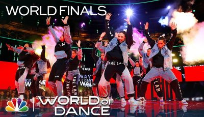 The Lab Perform a Tribue to Jennifer Lopez – World of Dance World Finals 2019