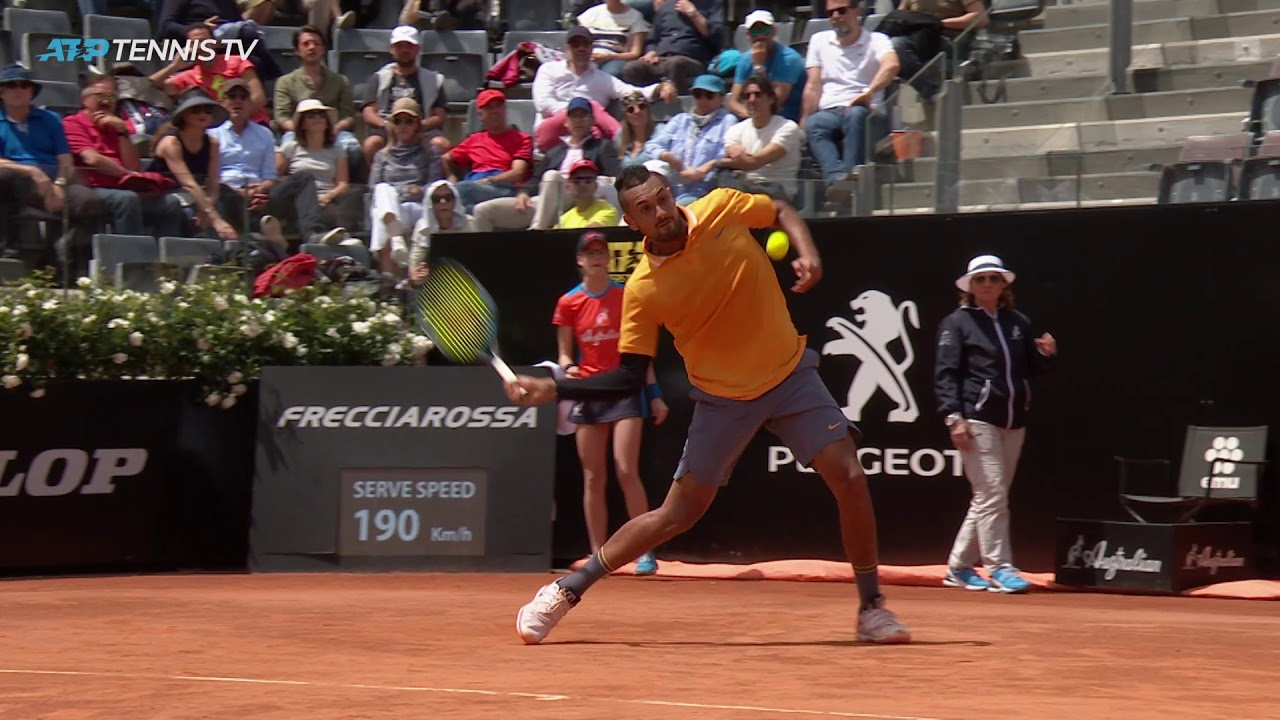 Photo of Crazy Nick Kyrgios Shots And Moments In Win Over Medvedev   Rome 2019