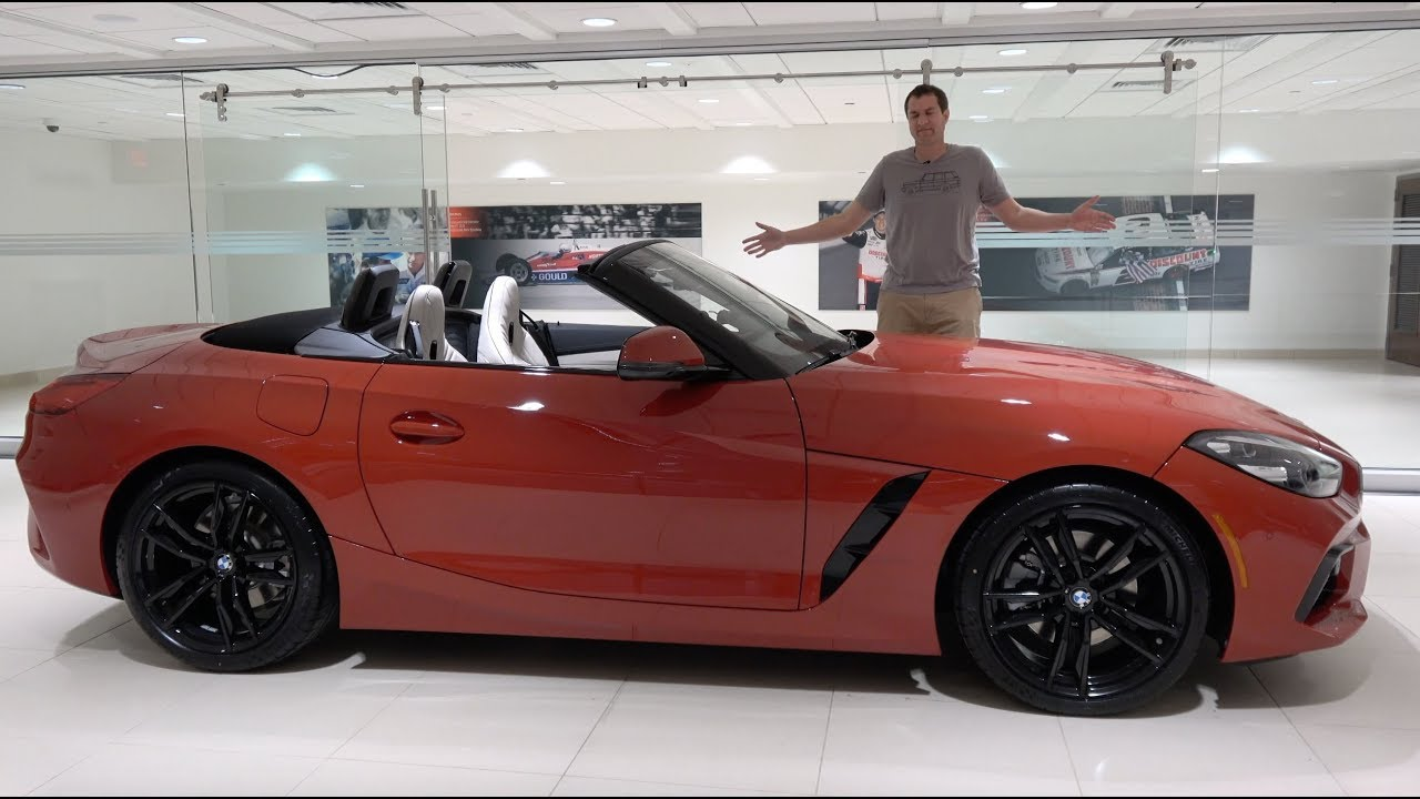 Photo of The 2019 BMW Z4 Is a Fun Luxury Roadster