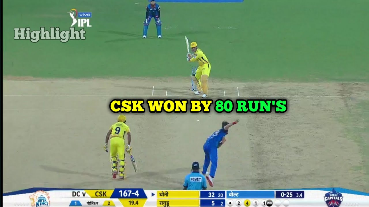 Photo of CSK vs DC Highlights| DC vs CSK match 2019 highlights | Ipl 2019 Highlights