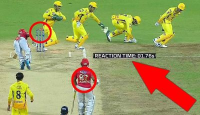 FASTEST RUNOUT: Thala DHONI's Quickest Reaction Behind Stumps!! | CSK vs KXIP | IPL 2019