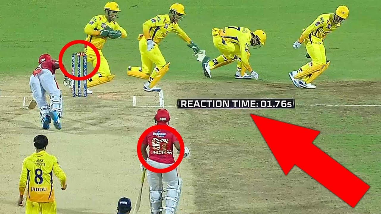 Photo of FASTEST RUNOUT: Thala DHONI's Quickest Reaction Behind Stumps!! | CSK vs KXIP | IPL 2019