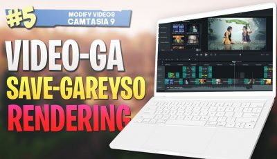 #5 Video-ga Save-gareyso |Rendering| Camtasia Studio 9 Video Editing 2019
