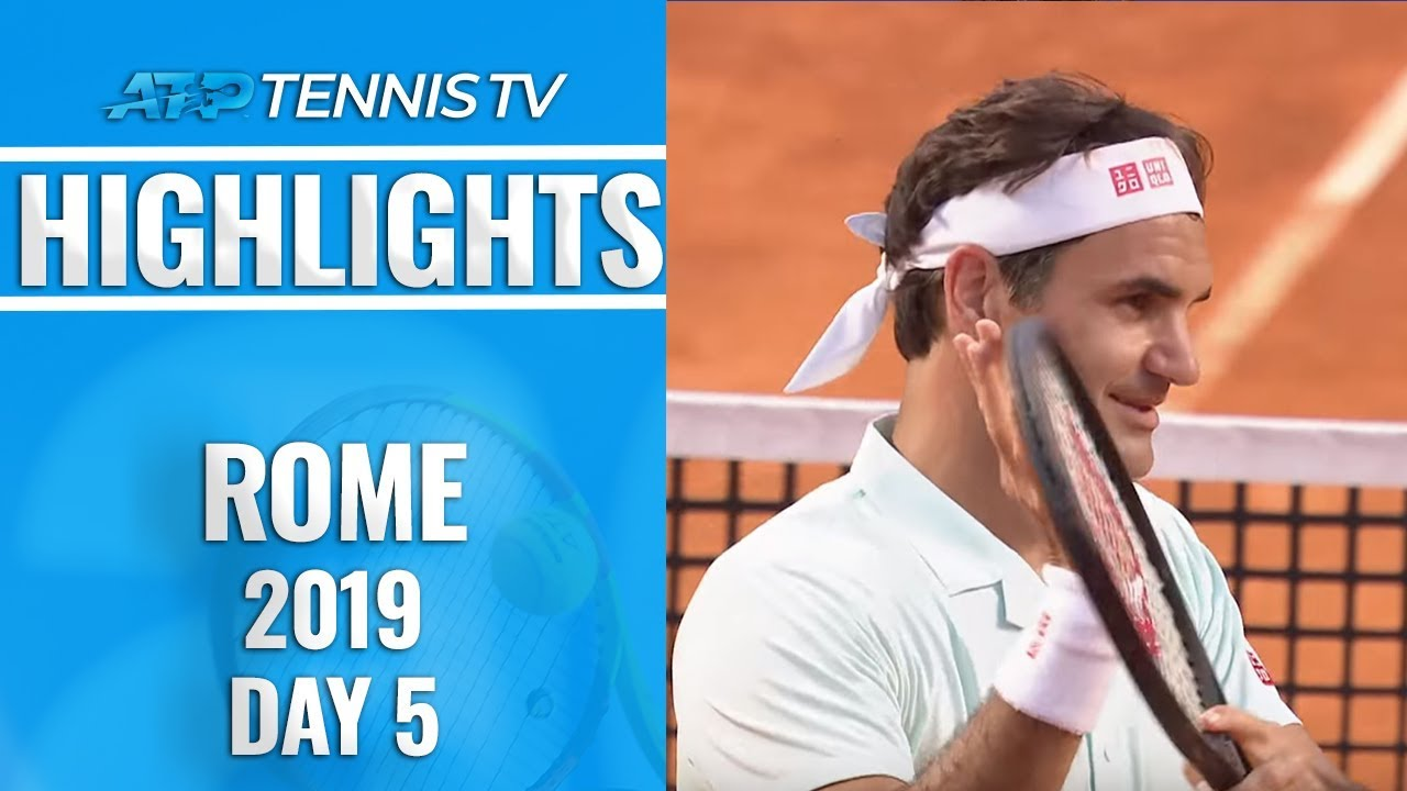 Photo of Federer Survives; Nadal and Djokovic Dominate | Rome 2019 Highlights Day 5
