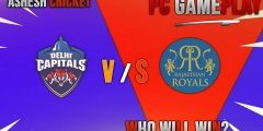 IPL 2019 : RR vs DC PC GAMEPLAY – WHO WILL WIN? ASHES CRICKET 17 #RRvsDC