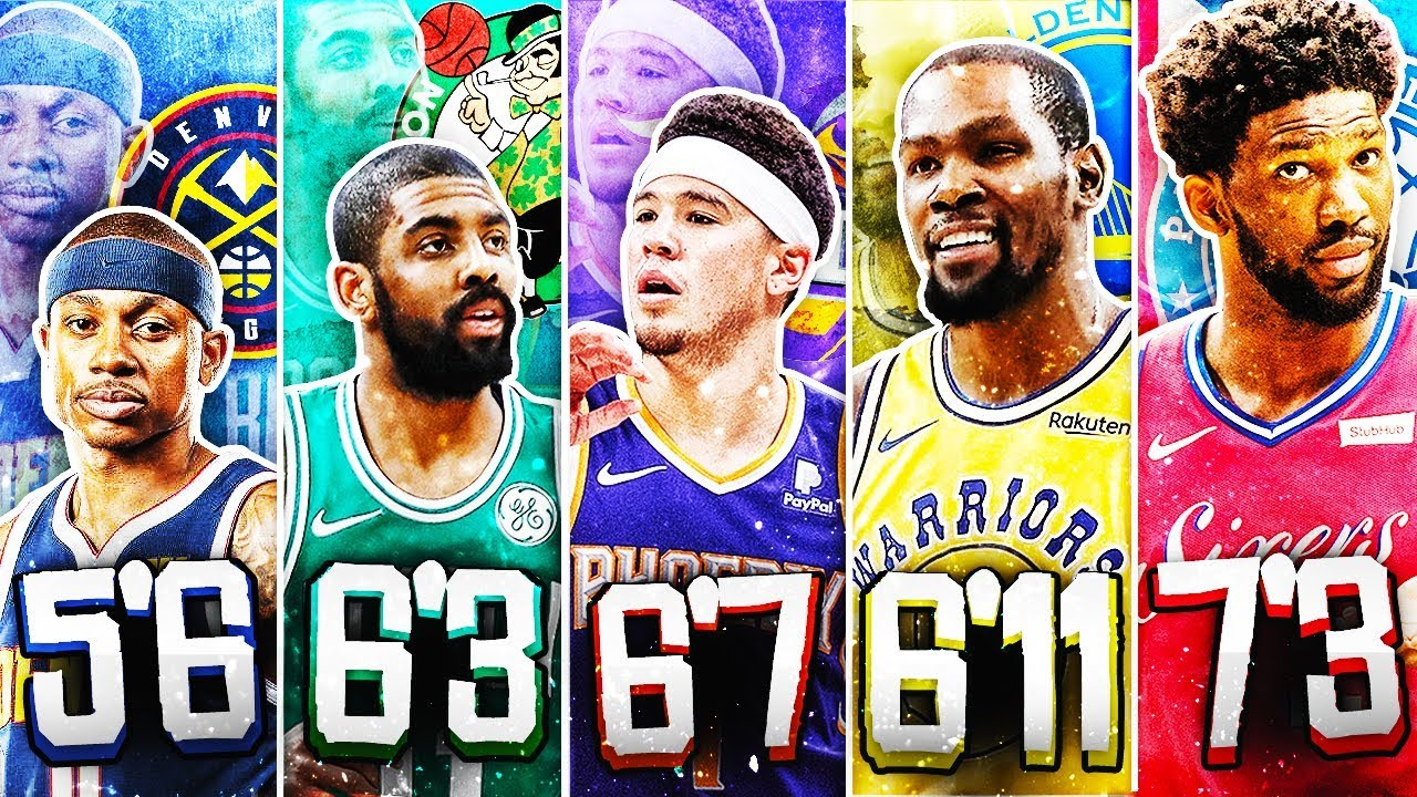 Photo of BEST NBA PLAYER FROM EACH HEIGHT IN 2019