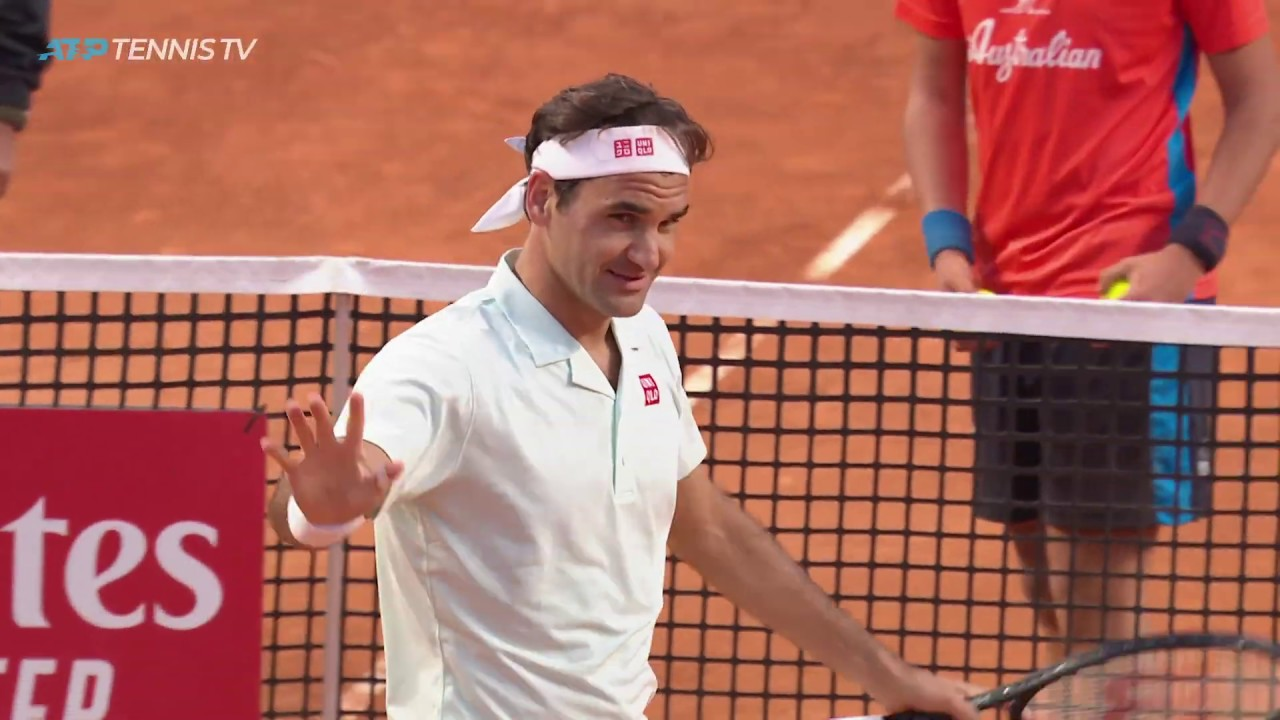 Photo of Dramatic Moments at End of Federer vs Coric Match! | Rome 2019