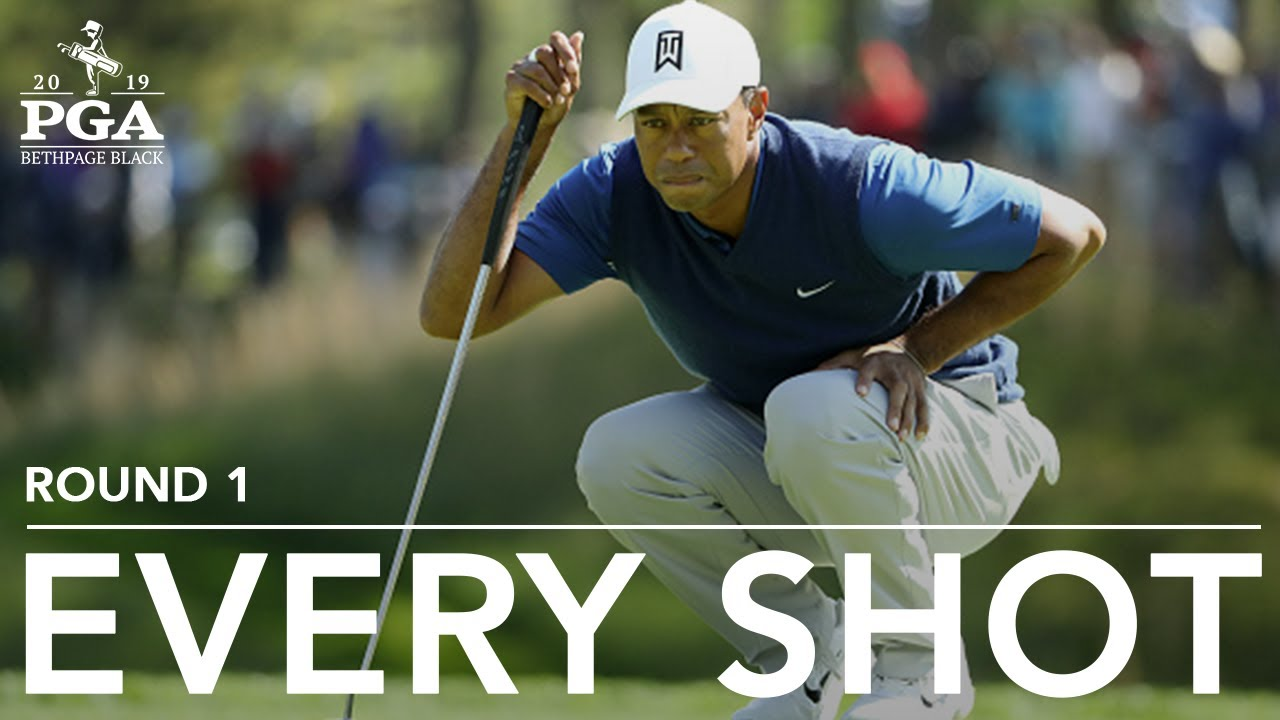Photo of Tiger Woods: Every shot from a first-round 72 at 2019 PGA Championship