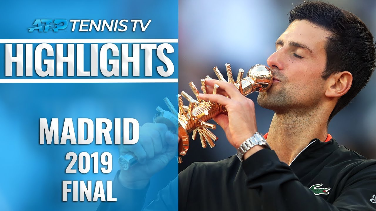 Photo of Novak Djokovic Wins Madrid, 33rd Masters 1000 Title! | Madrid 2019 Final Highlights