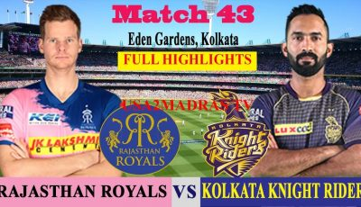 KKR vs RR Full Highlights, Match 43, IPL 2019, IPL, RR VS KKR, KOLKATA VS RAJASTHAN, 25 April