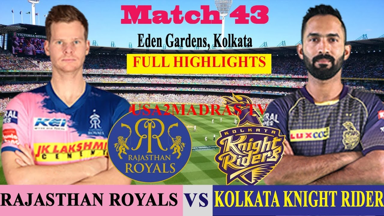 Photo of KKR vs RR Full Highlights, Match 43, IPL 2019, IPL, RR VS KKR, KOLKATA VS RAJASTHAN, 25 April