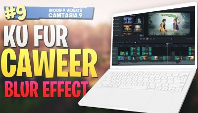 #9 Ku fur caweer |Blur effect| Camtasia Studio 9 Video Editing 2019