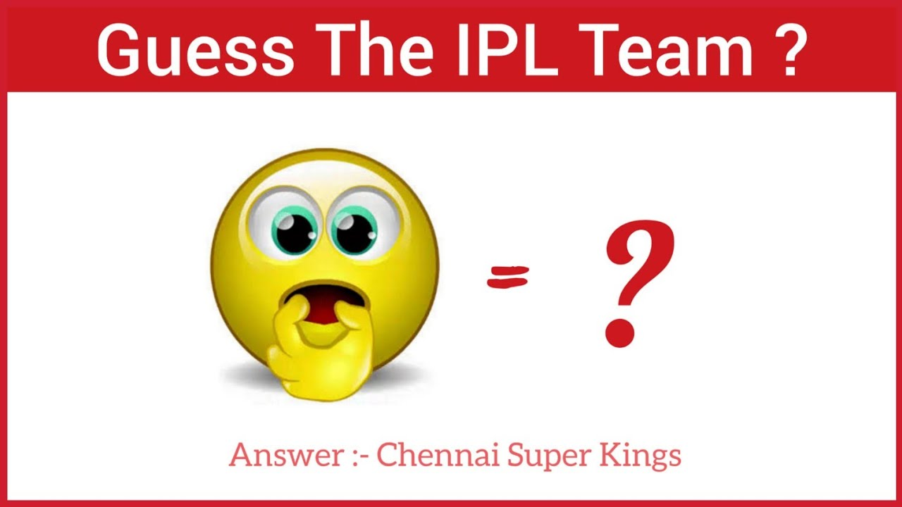 Photo of Can You Guess The IPL Teams In This Emoji Challenge ? || Only True IPL Fan Can Answer || Jay Shivray