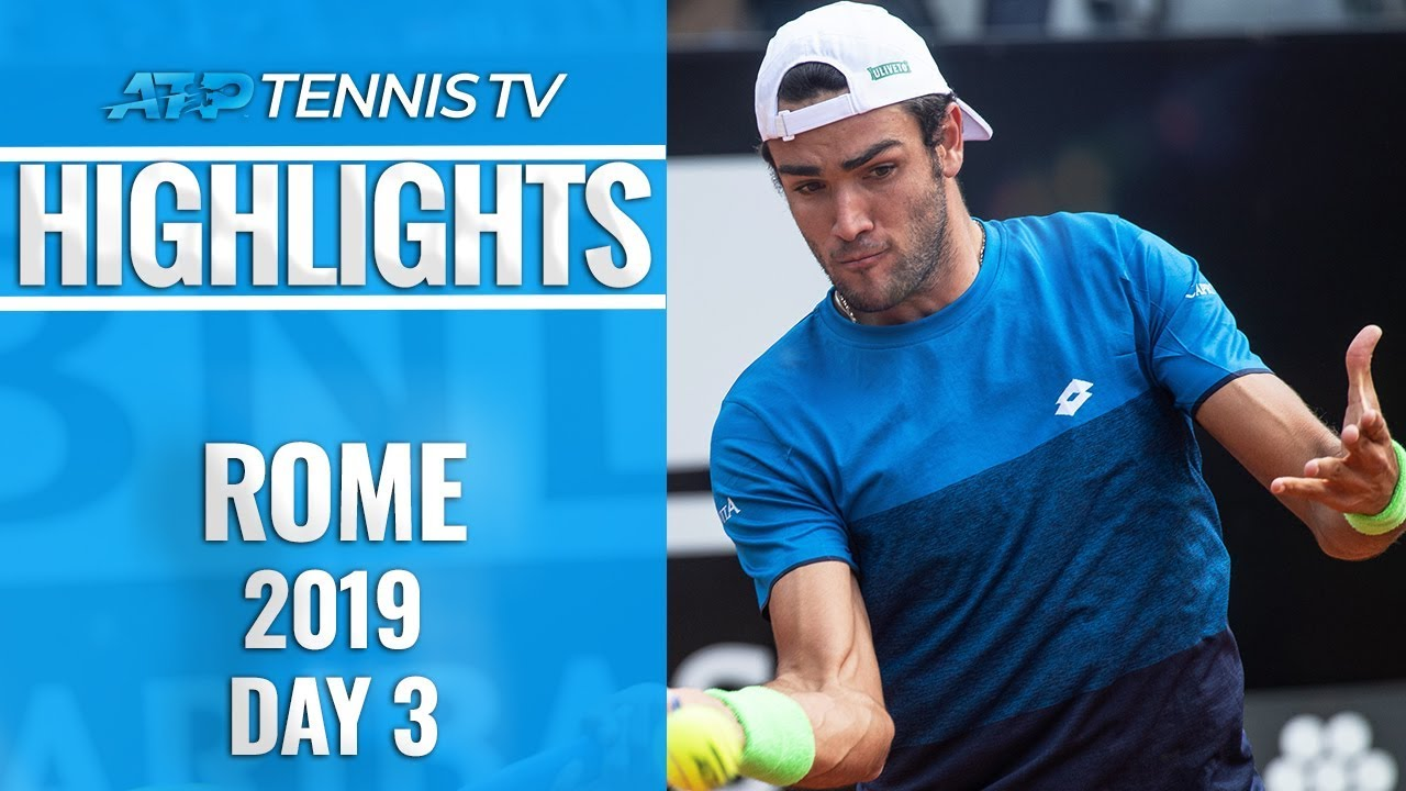 Photo of Berrettini Beats Zverev; Kyrgios Entertains! | Rome 2019 Highlights Day 3