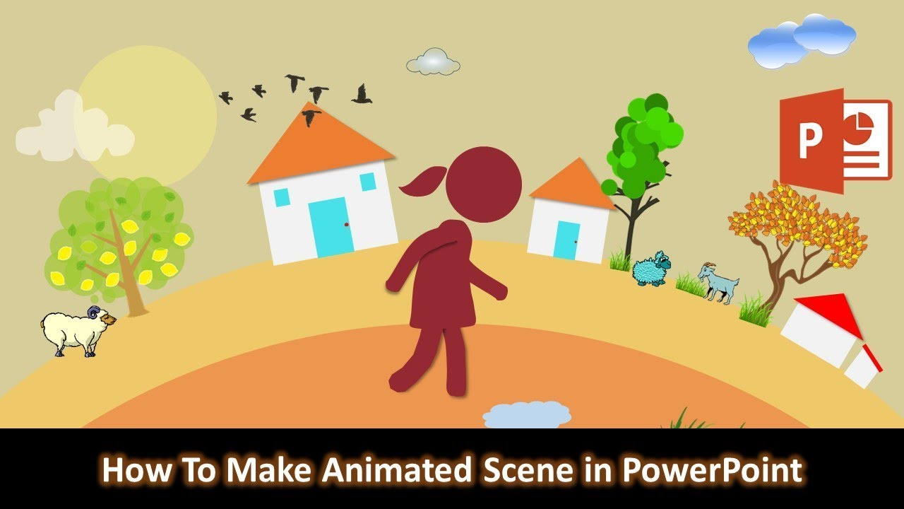 Photo of How to Make Animated Scene in PowerPoint 2016 | Motion Graphics Tutorial