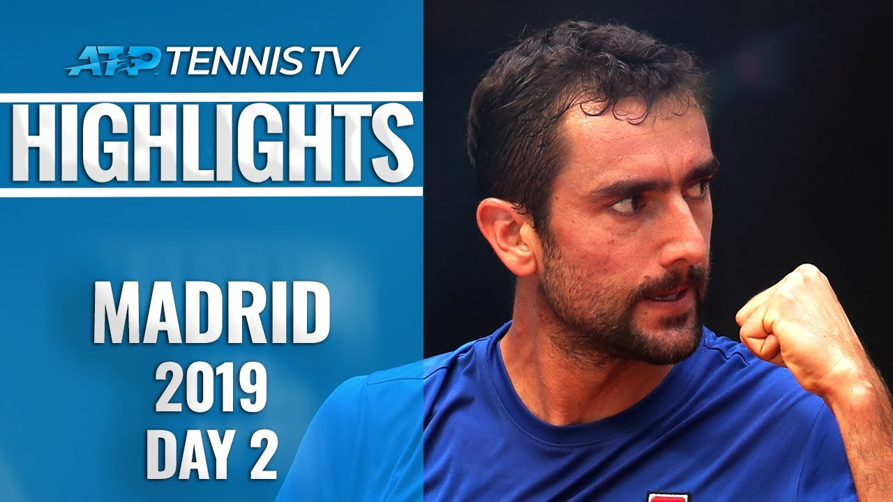 Photo of Cilic Snaps Losing Streak; Khachanov And Monfils Impress | Madrid Open 2019 Highlights Day 2