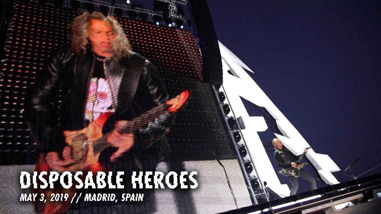 Photo of Metallica: Disposable Heroes (Madrid, Spain – May 3, 2019)