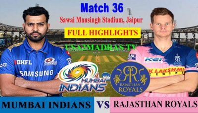 MI VS RR Highlights, Match 36, IPL 2019, IPL, RR VS MI, MUMBAI VS RAJASTHAN, 20 April