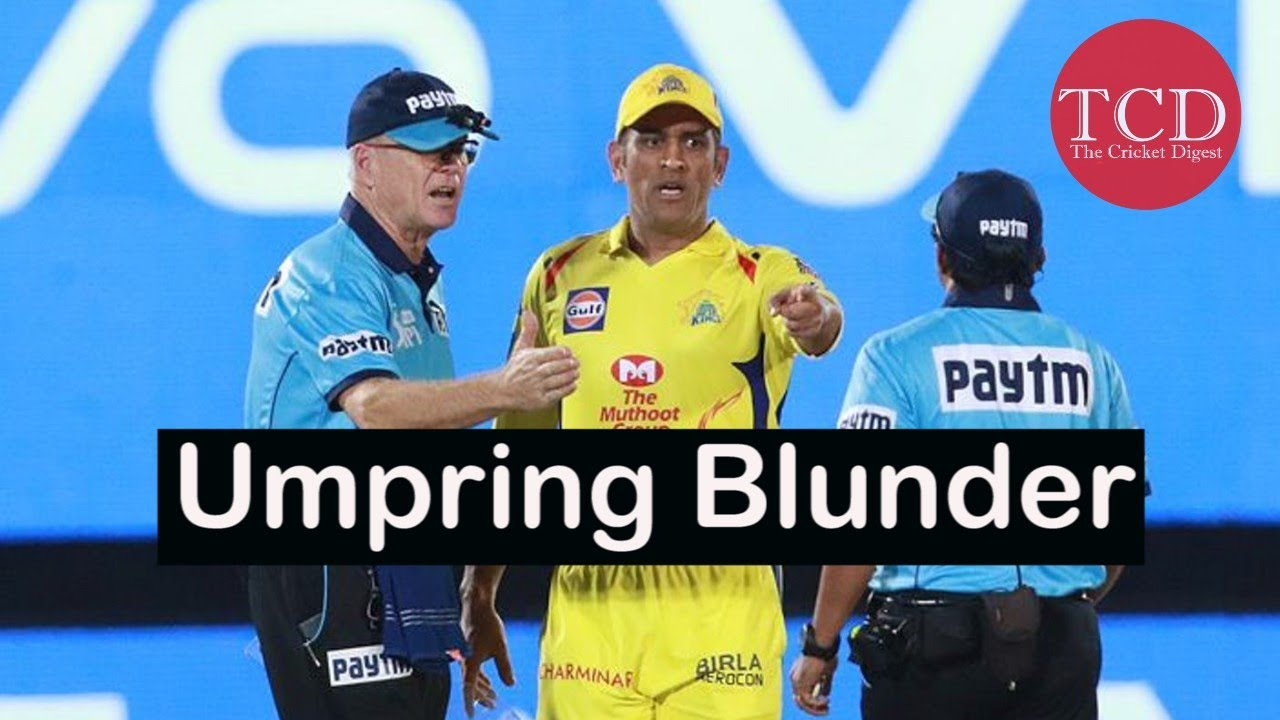 Photo of Umpiring Howler in IPL | No Ball Controversy | MS Dhoni Fined