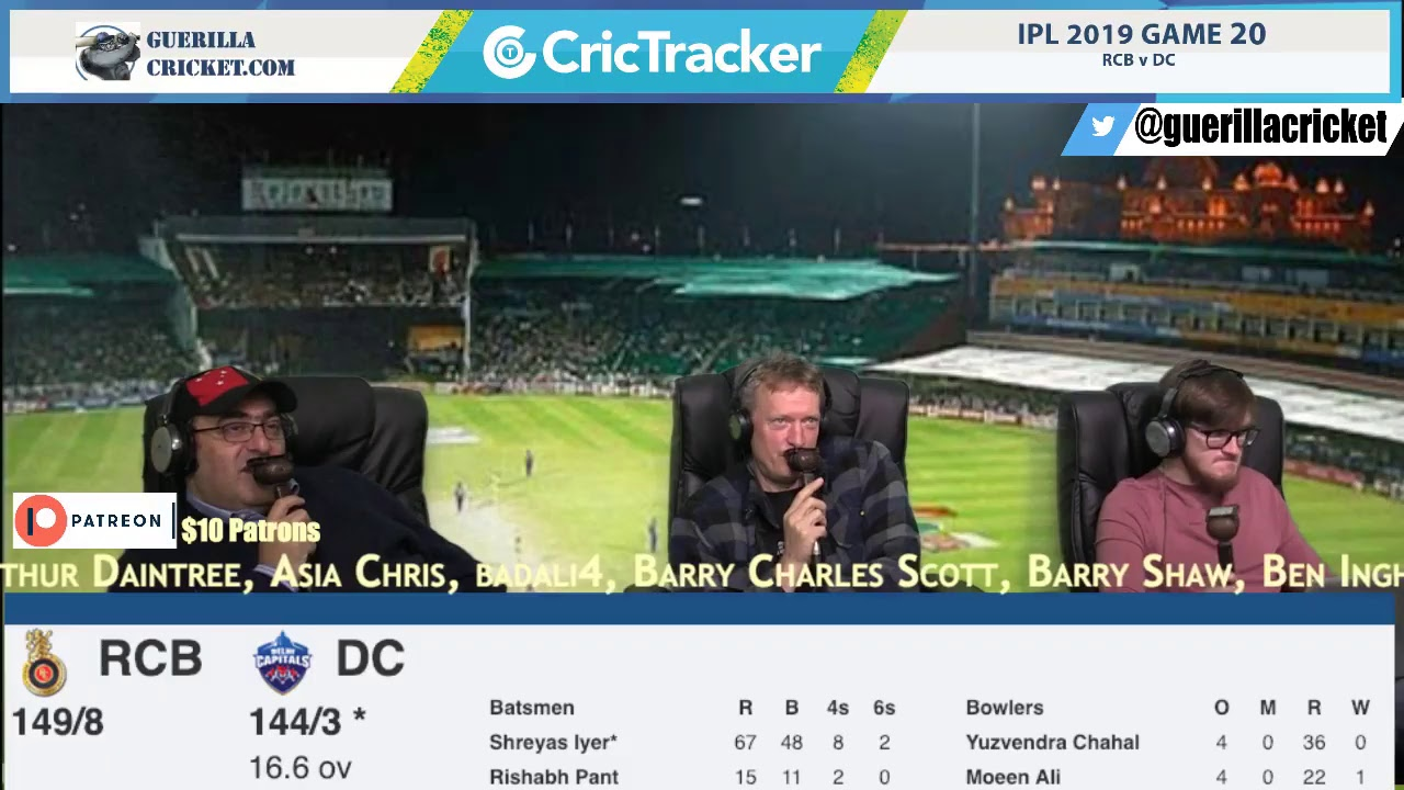 Photo of IPL 2019 Game 20: RCB v DC, Bengaluru – 2nd Innings