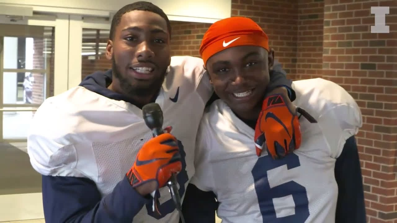 Photo of The Nate & Tony Show | Illini Spring Ball 2019