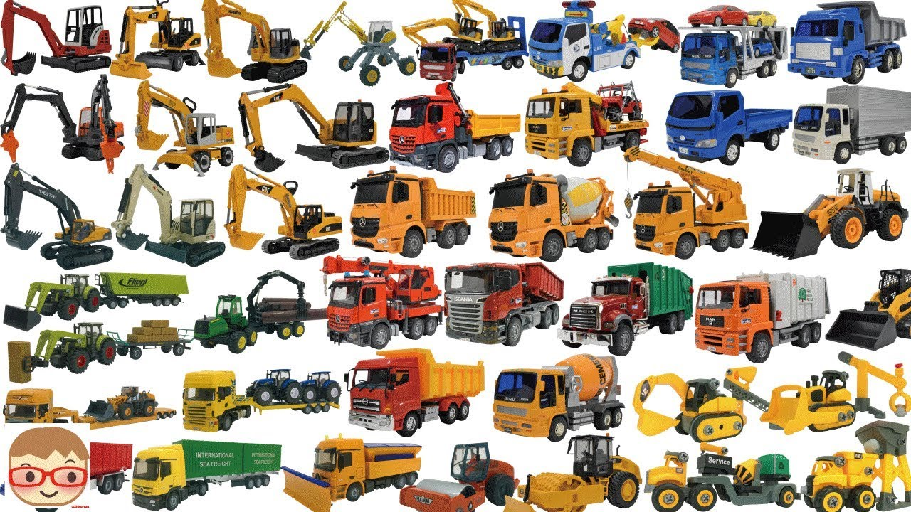 Photo of Lorry truck for children | Construction vehicles for kids | Excavator videos for children | Car toys