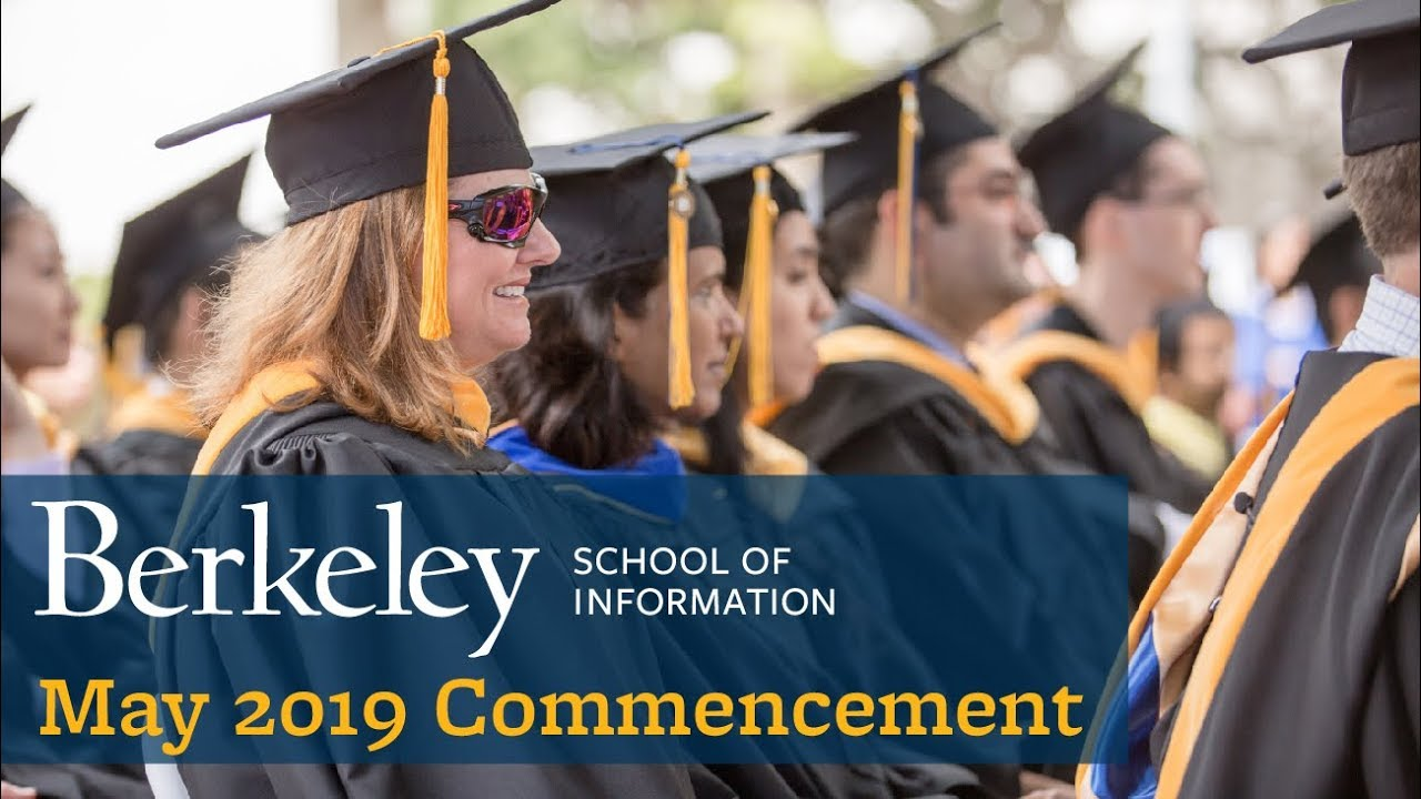 Photo of School of Information May 2019 Commencement