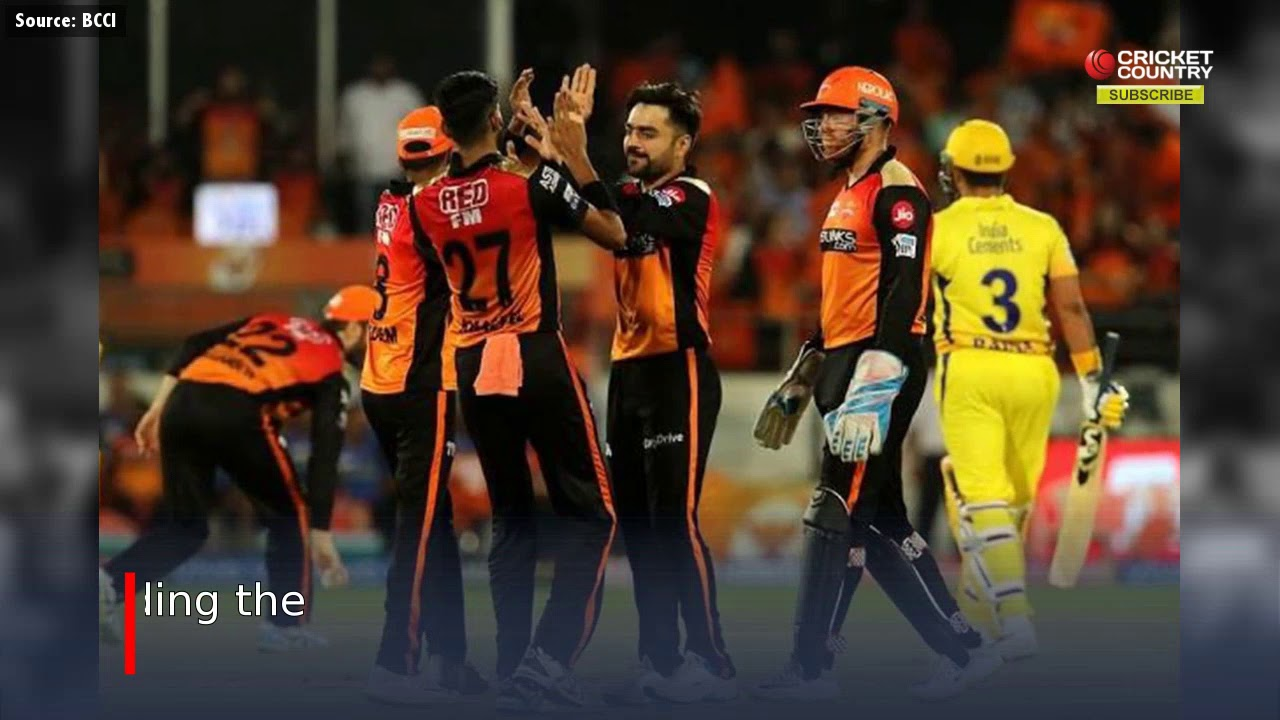 Photo of IPL 2019: Rashid, Warner and Bairstow star as SRH beat CSK