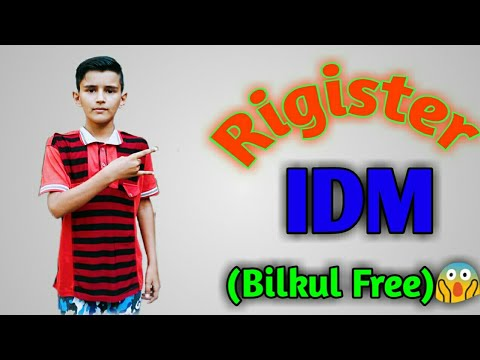 Photo of How To Register Internet Download Manager For Free All Versions by Hassan official