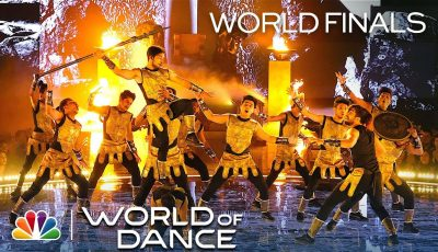 The Kings' Final Routine is an Action Movie Live on Stage – World of Dance World Finals 2019