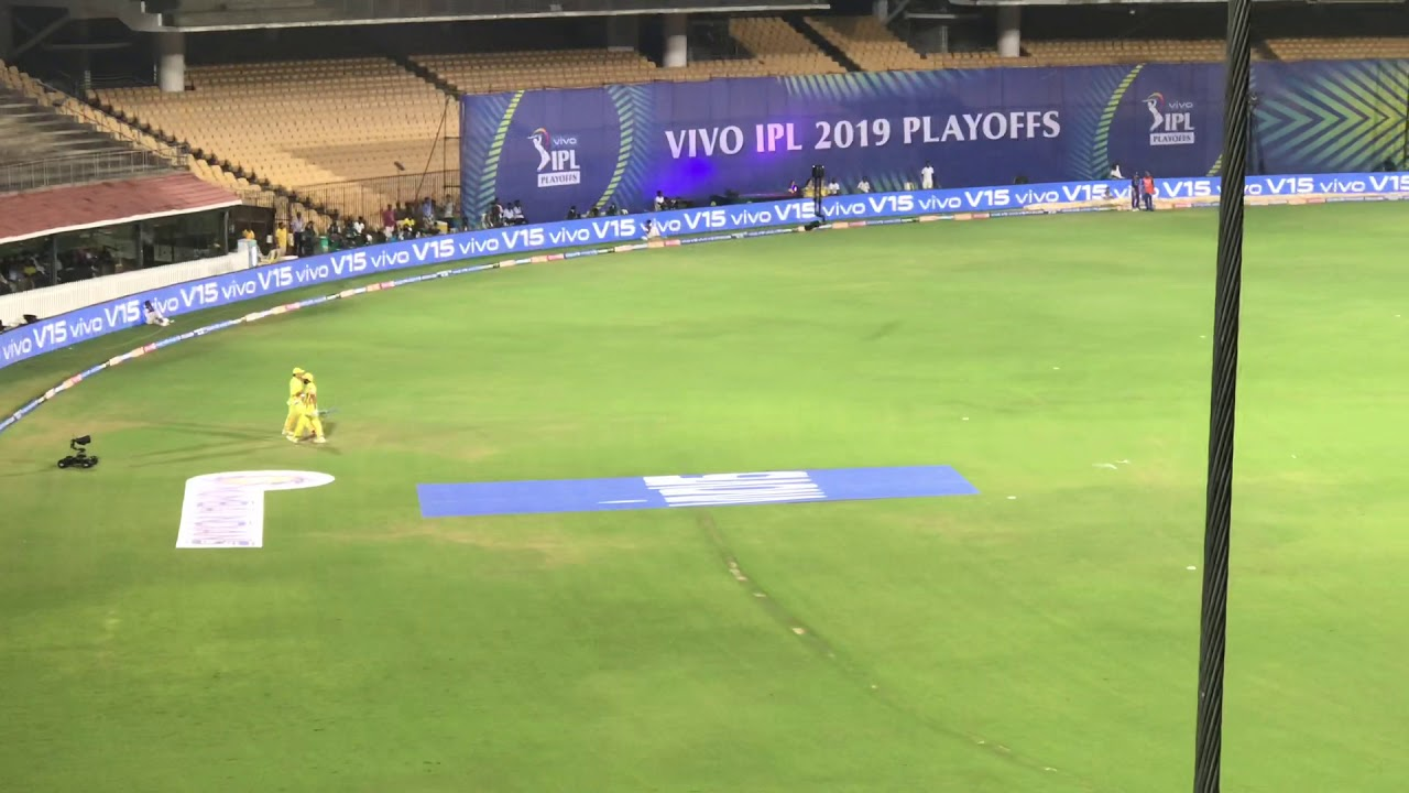 Photo of One last time Thala Dhoni in IPL 2019, MI v CSK Qualifier 1, Chepauk HD