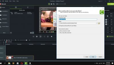 How to Export & Save videos in Camtasia Studio