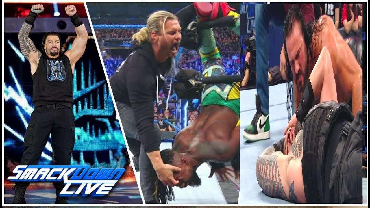Photo of WWE SmackDowns 21st May 2019  – Highlights