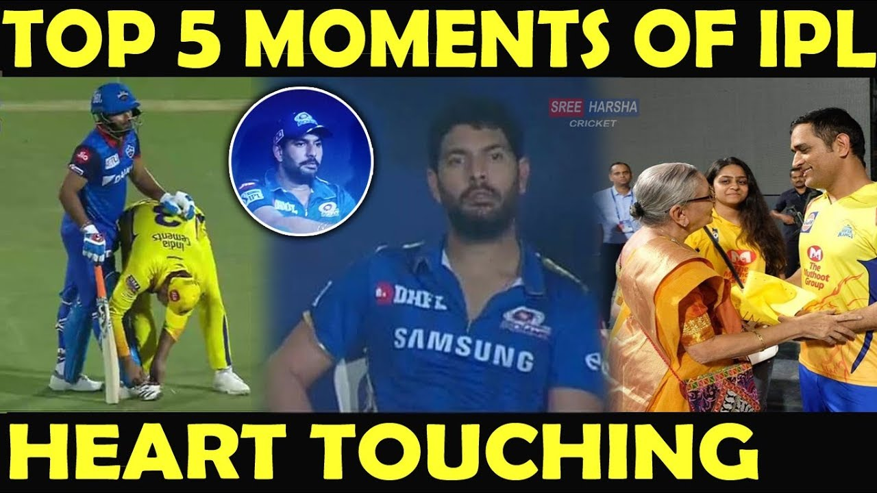 Photo of IPL 2019 : TOP 5 Heart Touching Moments | Respect | Emotions | Sportsmanship | FairPlay