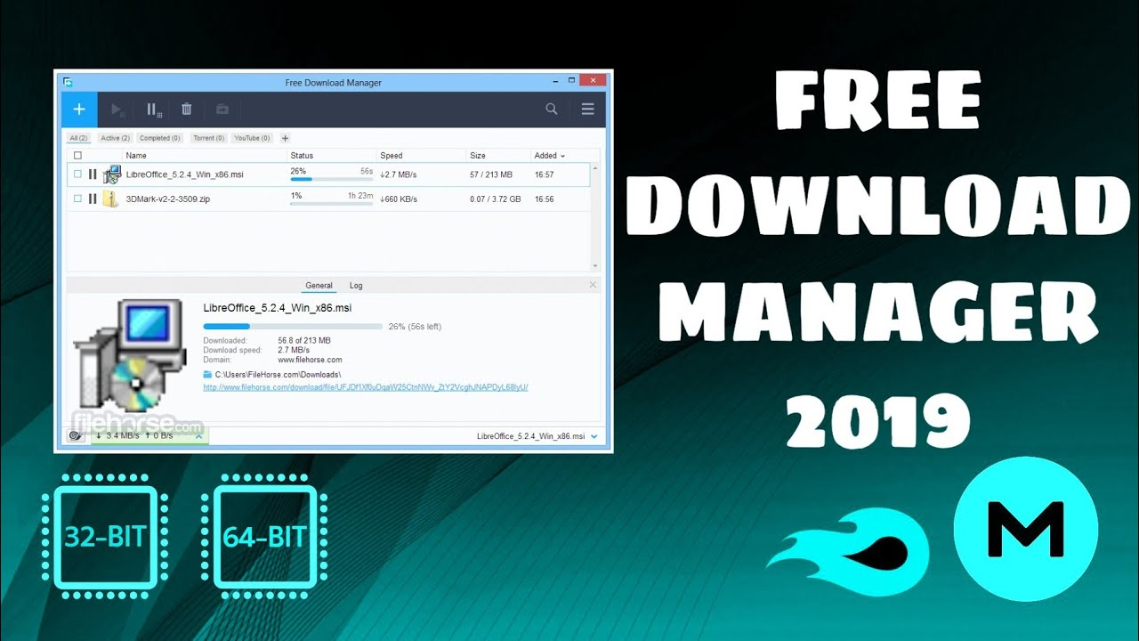 Photo of FREE DOWNLOAD MANAGER [MEJOR ALTERNATIVA A IDM] [2019]