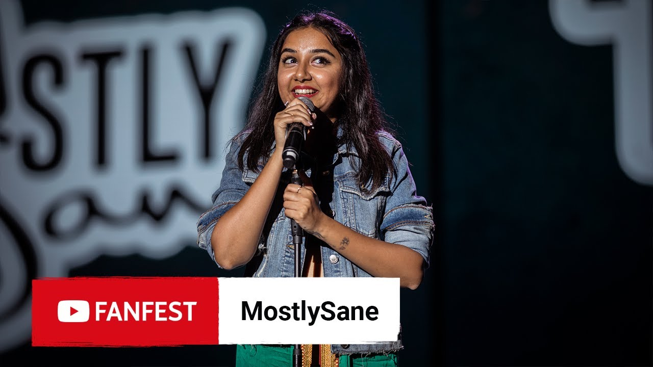 Photo of MostlySane @ YouTube FanFest Mumbai 2019