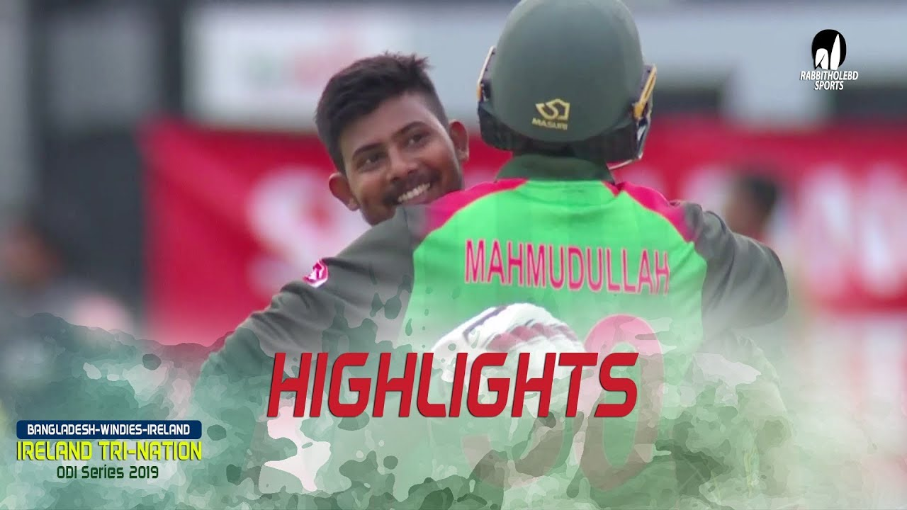Photo of Highlights Bangladesh vs Windies || Final Match || ODI Series || Tri-Series 2019