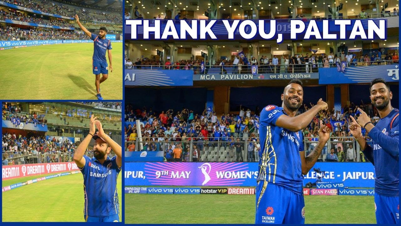 Photo of A Last Lap Of Honour at the Wankhede in IPL 2019 | Mumbai Indians