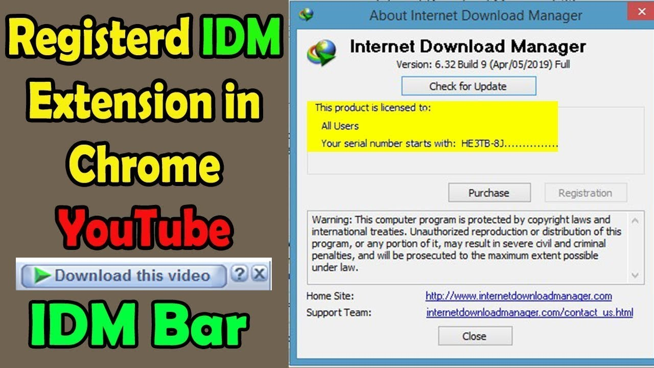 Photo of Download registered IDM || How To Register Internet Download Manager Free For Life Time