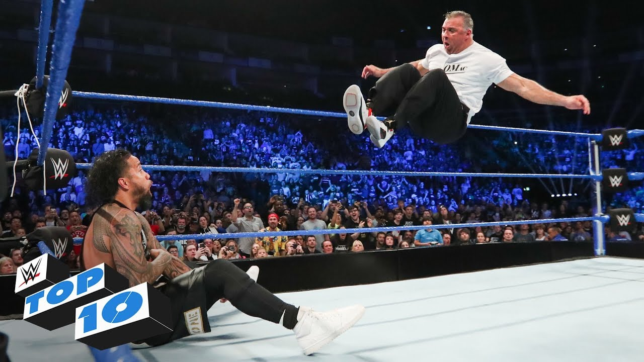 Photo of Top 10 SmackDown LIVE moments: WWE Top 10, May 14, 2019