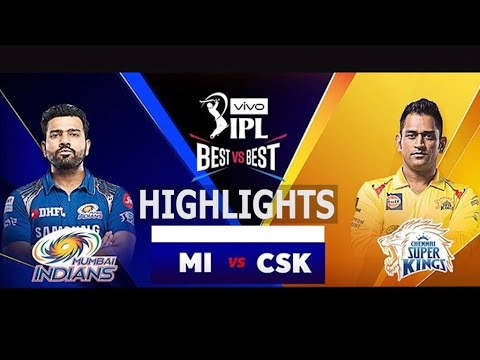 "Photo of IPL 2019 Full Highlights ""MI vs CSK"" Full Match Highlights Today"