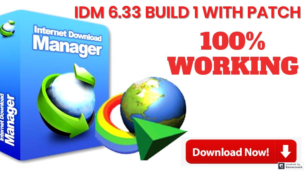 Photo of INTERNET DOWNLOAD MANAGER IDM 6 33 BUILD 1 WITH PATCH