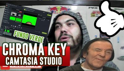 CHROMA KEY Fundo Verde – Camtasia Studio