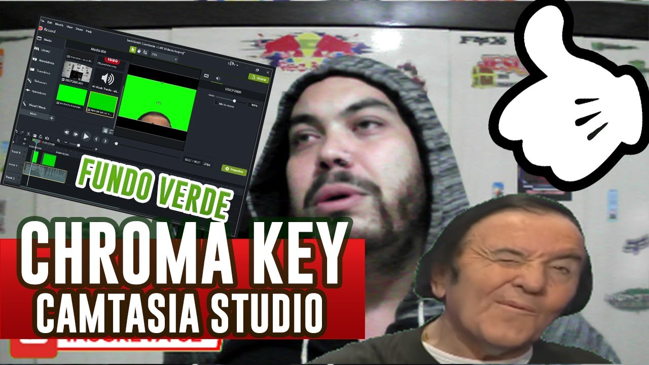 Photo of CHROMA KEY Fundo Verde – Camtasia Studio