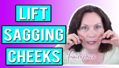 How to Lift Sagging Cheeks Naturally using Facial Exercise