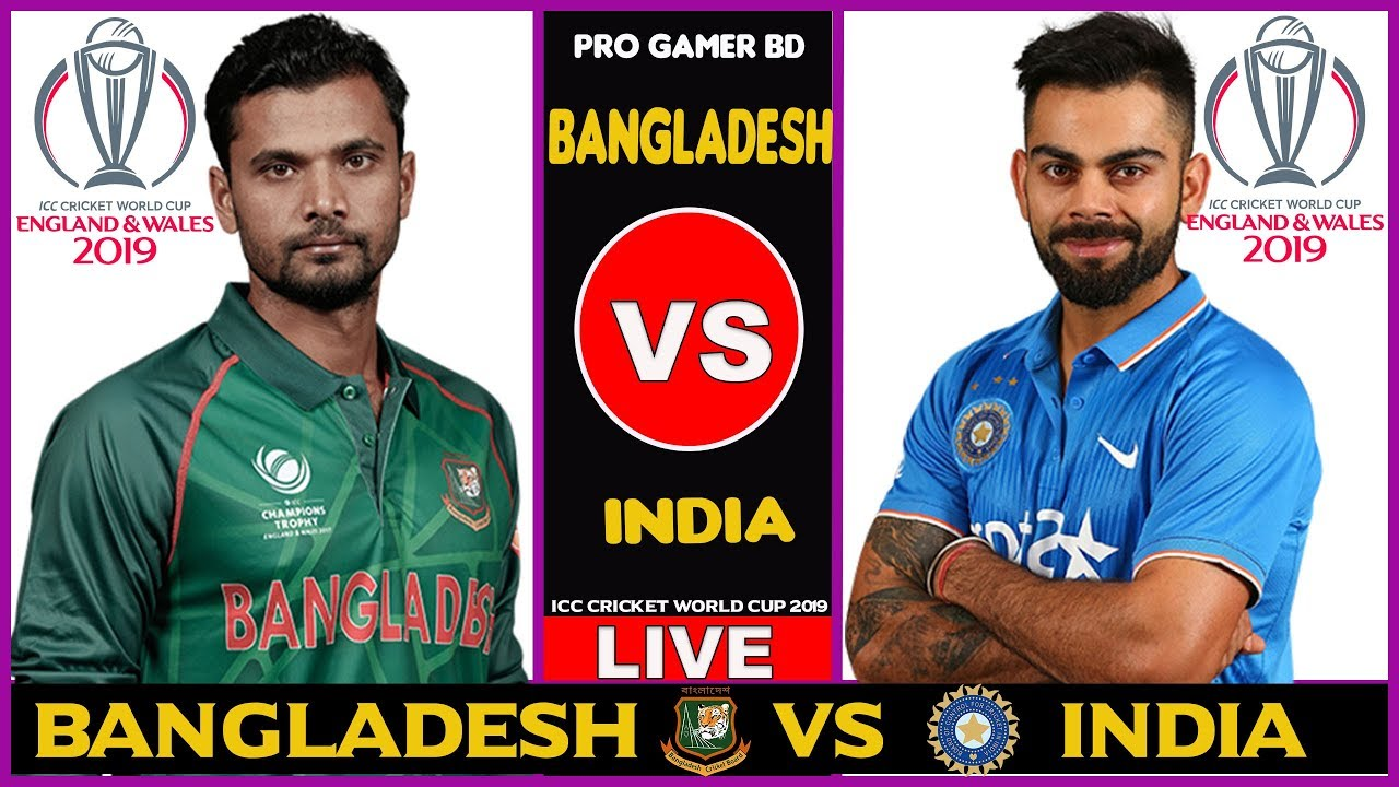 Photo of Bangladesh vs India, Warm-Up Match | World Cup 2019 | Live Scores and Commentary
